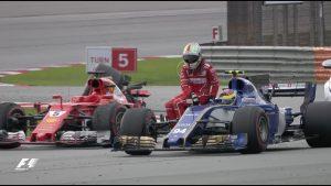 Vettel đi nhờ Wehrlein ở Malaysia