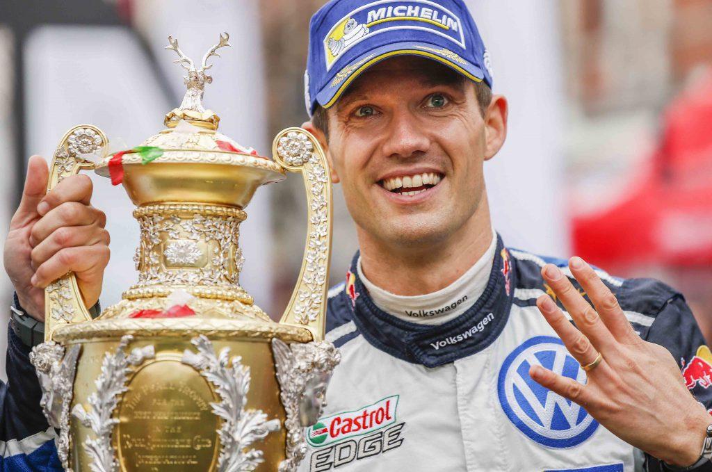 2016 FIA World Rally Championship, Round 13, Wales Rally GB 2016 October 27 - 30, 2016 Sebastien Ogier, VW, winner Worldwide Copyright: McKlein/LAT