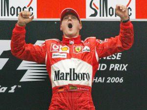 Chiến thắng cuối cùng của Schumacher ở GP Trung Quốc 2006