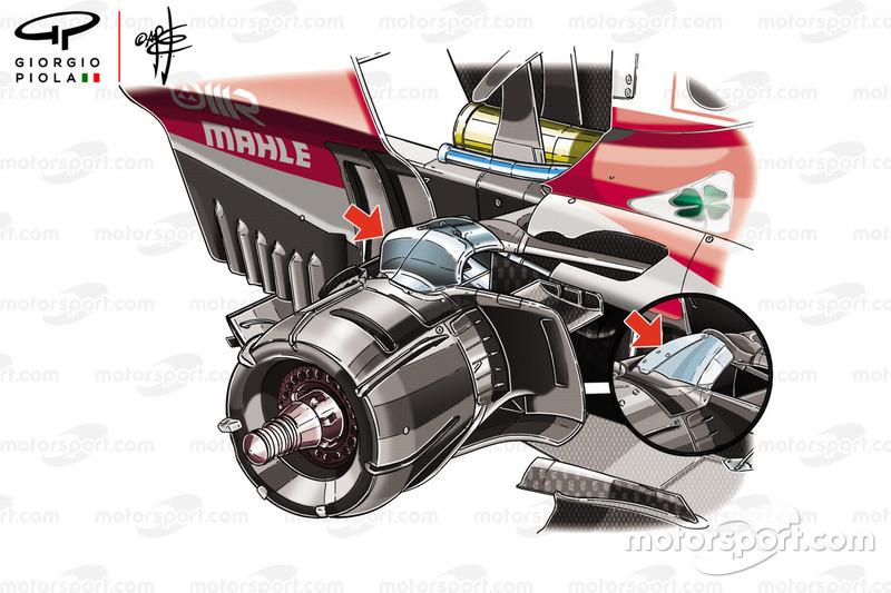 ferrari sf-71h rear suspension
