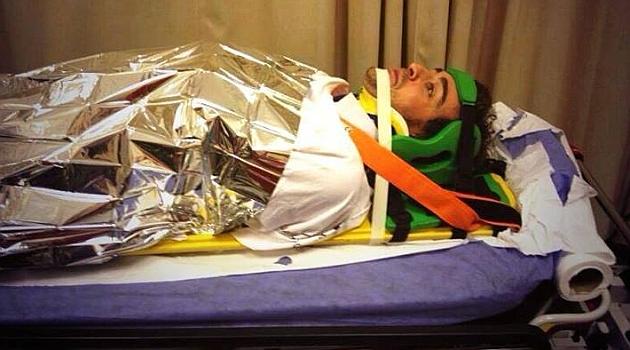 Alonso phải nhập viện sau khi GP Abu Dhabi 2013 kết thúc