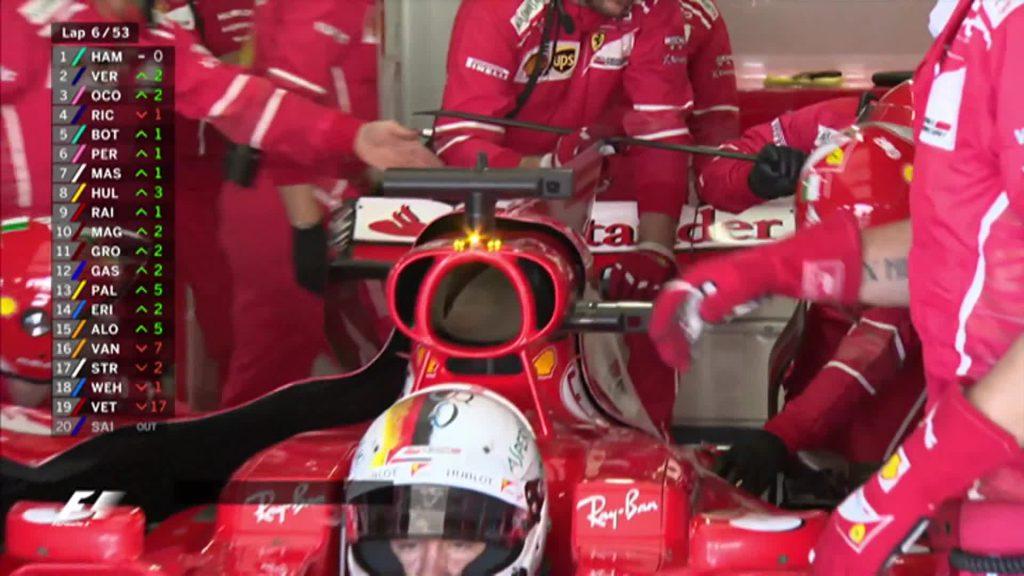 Vettel phải bỏ cuộc khỏi GP Nhật Bản 2017 do bị hư bugi