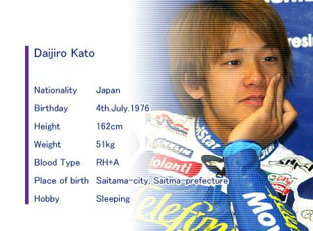 Tay đua xấu số Daijiro Kato