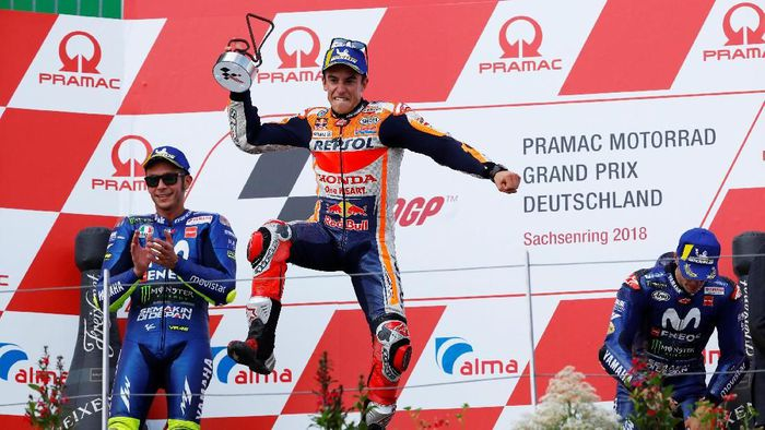 Kéo dài kỷ lục chiến thắng ở Sachsenring