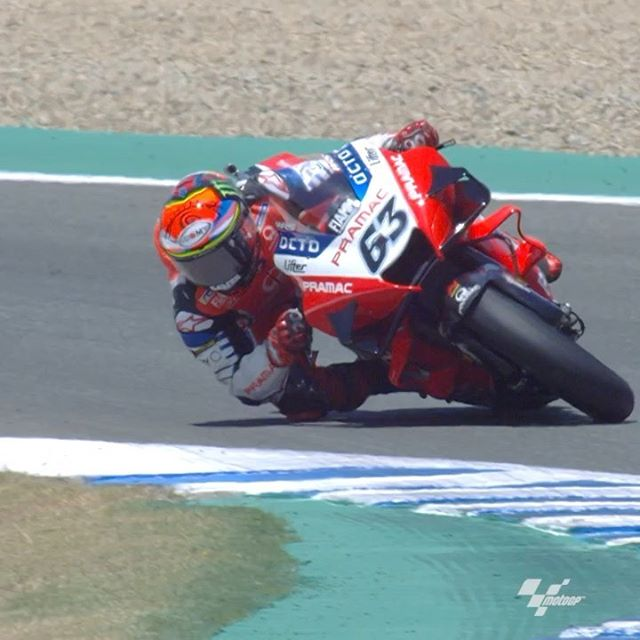 Francesco Bagnaia phải bỏ cuộc khi đang P2 ở GP Andalucia